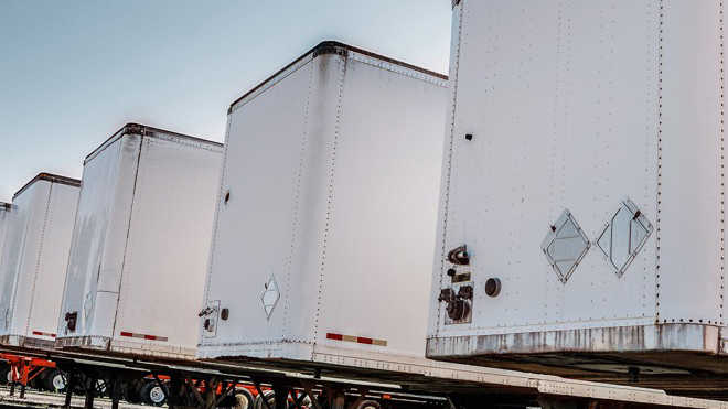 Used trailers for sale at upcoming Ritchie Bros. auc