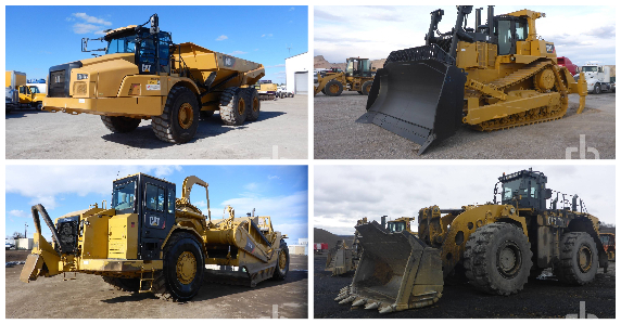 Construction equipment & machines for sale at Rtichie Bros.